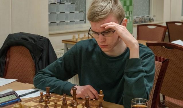 Koos van den Berg in actie. (Foto: Privé)