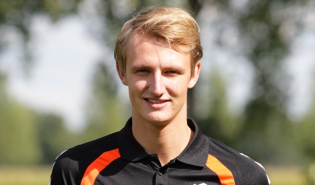 Lars Dekker verzorgde de assist voor de 1-0 en maakte zelf de 2-1. Foto: R.K.S.V. Rijssen.
