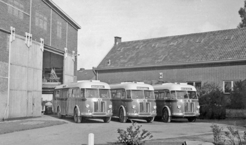 Door Aviolanda gebouwde autobussen. (Foto: Hans Kragt)