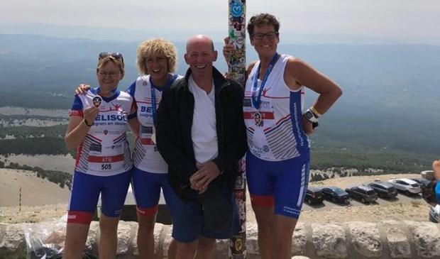 Een team IntermeZZo ging in 2018 ook al de Mont Ventoux  op.