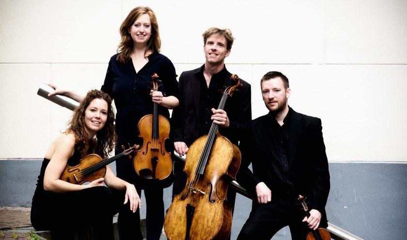 Het Vespucci Kwartet speelt zaterdag 16 maart in De Marke in Hattem.
