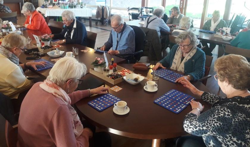 Er is altijd wat te doen in De IJsvogel, zoals bingo. (Foto: Elise Eshuis-Boon)