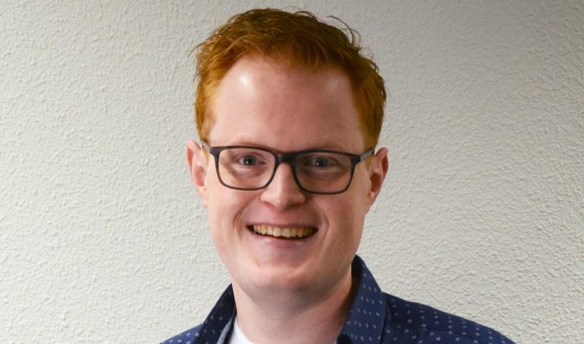 """Jan Oene Krist: """"Vrijwilligers komen in gesprek met anderen en bieden perspectief in plaats van angst. Eigen foto."""