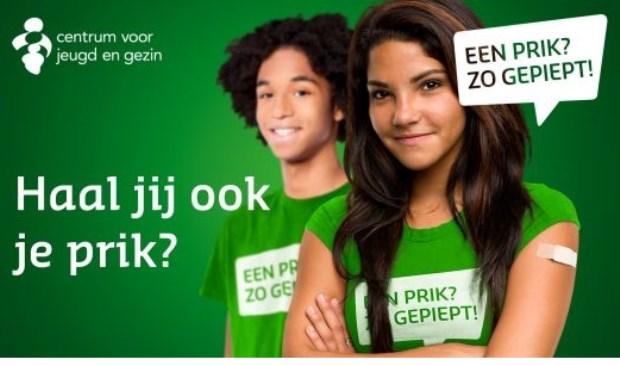 Jongeren in Rijnmond worden volgende week gevaccineerd tegen Meningokokken.
