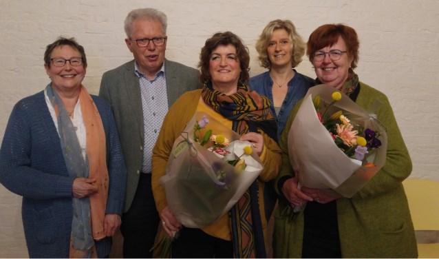 Zonnebloem Blij Met Bestuursleden Gerda Olthof En Frieda Van Enk