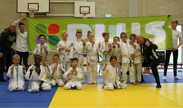 Ruim tachtig judoka's kwamen zaterdagmiddag naar de sporthal van basisschool Paus Joannes voor een 'puntencompetitie'.