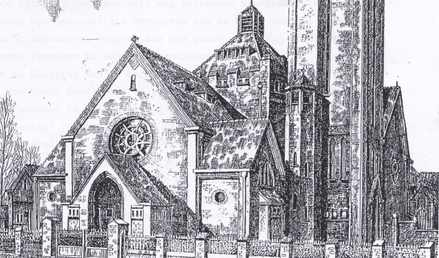 De afname van het aantal kerkgangers noopte tot sluiting en sloop van kerken. Tot er slechts één kerkgebouw restte: die van Broekhoven.