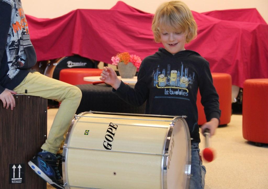 Music lab in De Muzen.  © Persgroep
