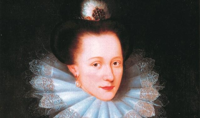 Portret van Emilia van Oranje Nassau.