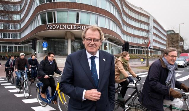 DEN HAAG - Drs. J. (Jaap) Smit is Commissaris van de Koning in Zuid-Holland. Fotograaf Dirk Hol