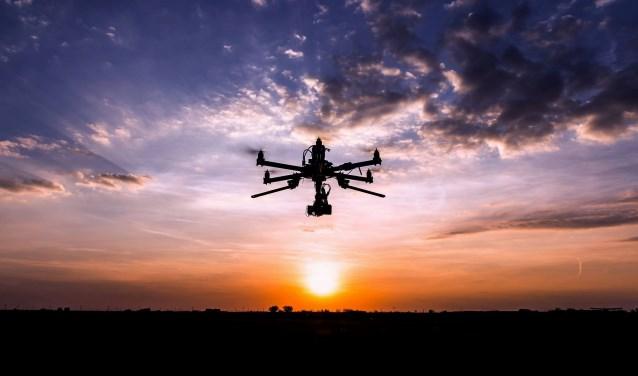 Drone in actie