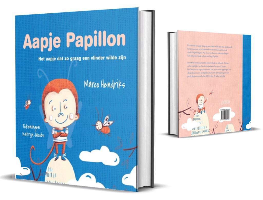 Hét voorleesboek Aapje Papillon Foto: ADOREMI Uitgeverij  © Persgroep