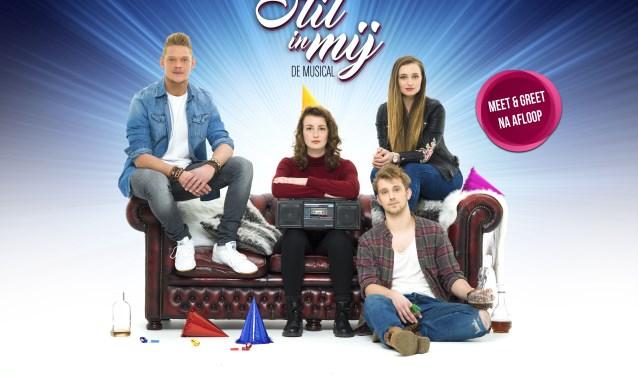 De musical 'Stil in mij' staat op woensdag 3 april in Theater De Leest.