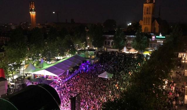 Bij grote evenementen waarbij veel publiek op de been is, zoals de Nacht van Hengelo, worden de camerabeelden live bekeken.