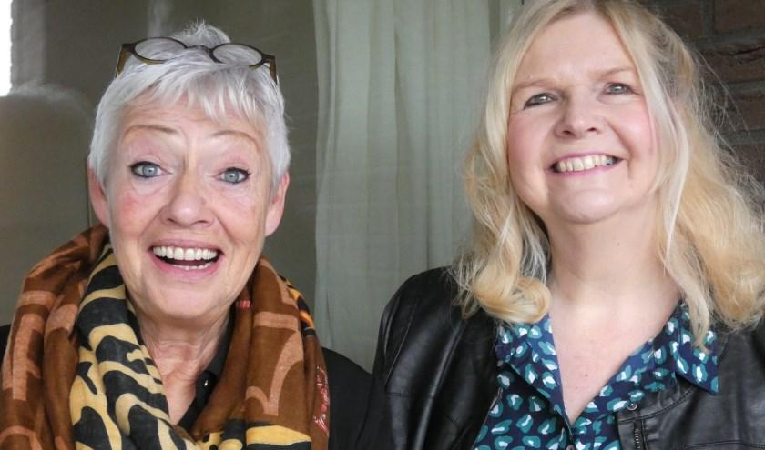 Gerda Oosterdijk en Wilma Laan organiseren een groot evenement voor Amersfoortse Keiengroep.