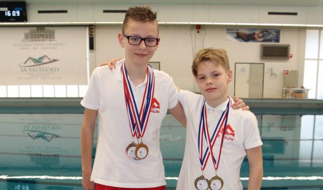 Wesley van Elst en Wessel Meeuwenberg winnen vijf medailles op RLAK