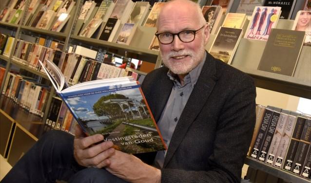 Historicus en auteur Jan van Es: 'Gouda speelde een belangrijke rol bij het beheer van de waterwegen' Foto: Marianka Peters