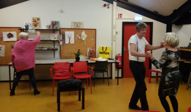 toneelrepetitie in het Onderdak