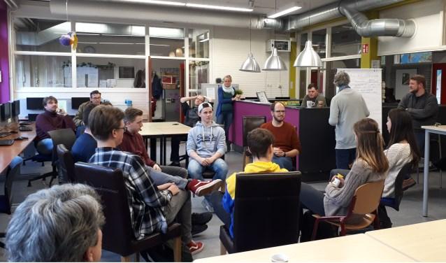 Praten over de toekomst van Metameer Stevensbeek. (foto: Veronique Slenders)