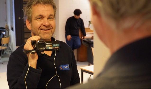 """Bertie: """"Ik wilde de techniek van het interviewen beter leren kennen en het thema sprak mij ook bijzonder aan. Foto: Flory Timmer"""