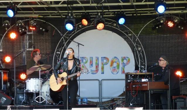 Mell & Vintage Future speelden vorig jaar als openingsact op Vrijpop. (Foto: Hans Stokkemans)