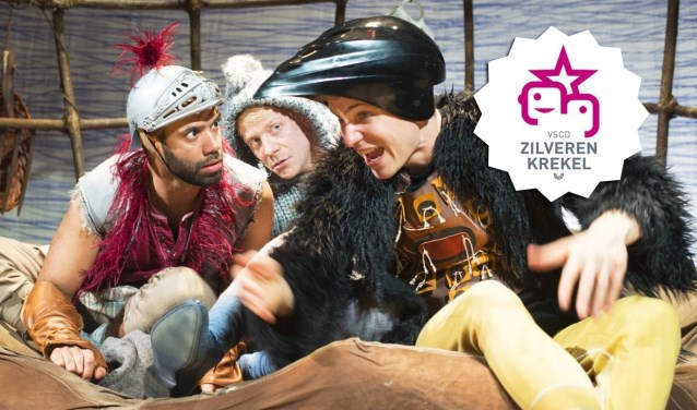 Cast Jabber v.l.n.r.: Lucas Schilperoort, Rogier van Erkel en Jochem Smit