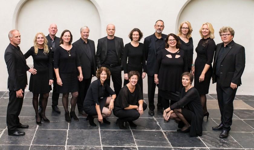 Huygens Vocaal Ensemble zingt in Epe werken van  hedendaagse componisten uit Scandinavië, Baltische staten, Rusland en Noord-Amerika. (foto: Hans van Eerbeek)