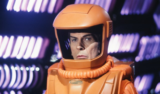 Ook het ruimtekostuum van Spock kun je in de Kunsthal bekijken. (Foto: Mel Traxel)