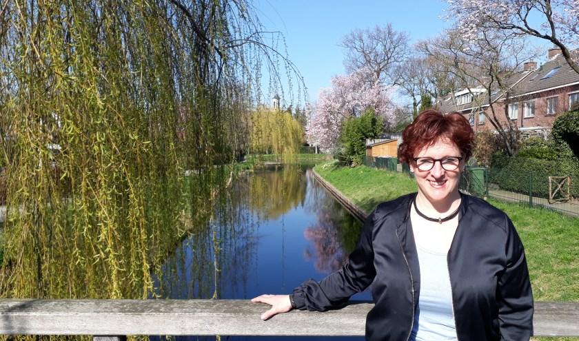"""Heidi Nusselder: """"Dementie is gewoon topsport voor de mensen die dat hebben en ook voor hun mantelzorgers."""" (foto: Ceciel Bremer)"""
