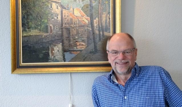 Peter den Hertog verzamelt alles over Oudewater, zijn stad! Want ook geschiedenis is zijn grote passie.(Foto: Margreet Nagtegaal)