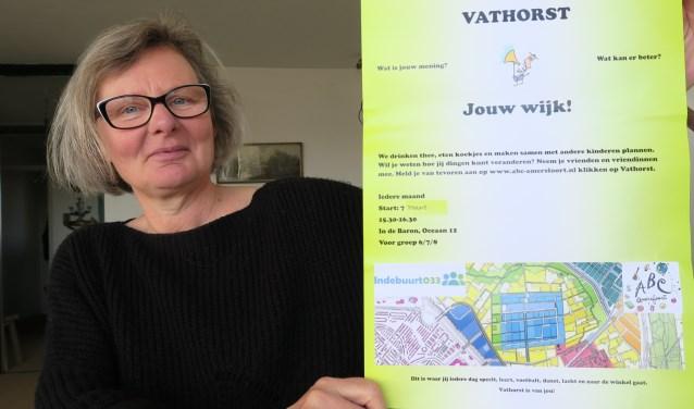 Sarah de Vries vindt de mening van kinderen over hun wijk van belang.