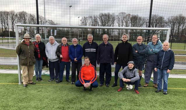 Walking Football team AD'69. (foto: Raimond Smit)