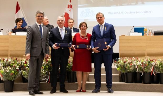 Kees van Kranenburg, Ali Dekker en Han IJssennagger kregen Koninklijke onderscheiding