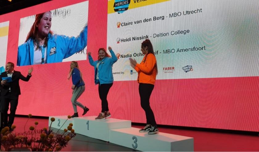 Claire MBO Utrecht wint goud op NK Skills
