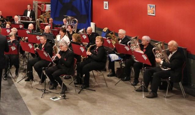 Het Regionaal Senioren Blaasorkest Graafschap is de organisator van het festival en geeft zelf ook een optreden van 45 minuten. (foto: John Piek)