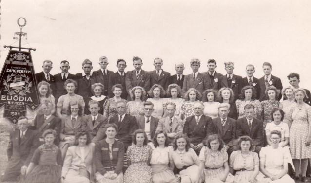 Euodia 1948 concours in Bodegraven