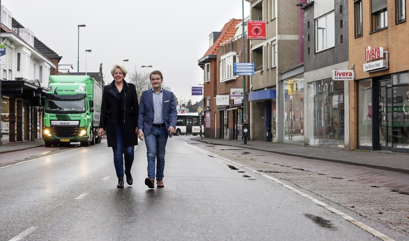 Kho en Gerlings. Mede met de inzet van Provinciale Staten wordt het centrum in de toekomst autovrij. Foto: Jurgen van Hoof.
