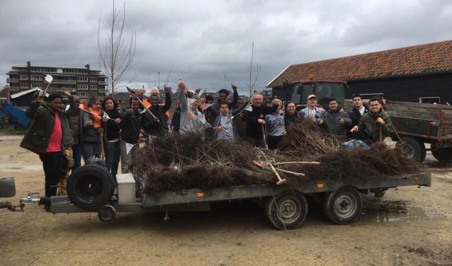 het plantteam had veel werk te verzetten (Foto: PR)