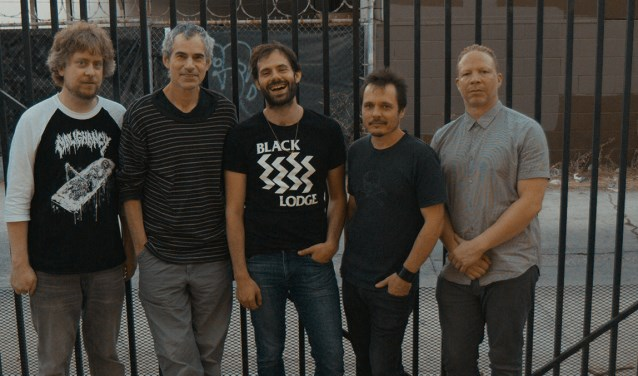 Dan Weiss met Craig Taborn, Matt Mitchell, Ben Monder en Trevor Dunn. .