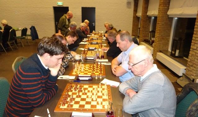 FM van Baarle (r) daarnaast van Loenen, Juijn en van Zessen…