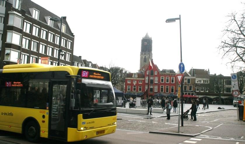 Het openbaar vervoer in de gemeente Utrecht is een thema waarover de provincie besluiten neemt. Foto: Johan Morgenstond
