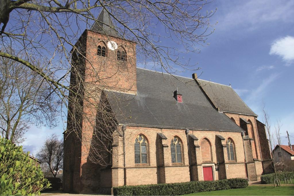 De Werenfriedkerk in vol ornaat.