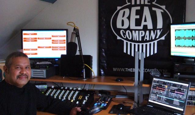 The Beat Company bij Radio Ridderkerk (Foto: André Usmany)