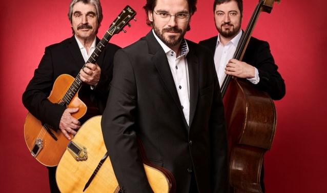 Het Joscho Stephan Trio. (foto Manfred Pollert)
