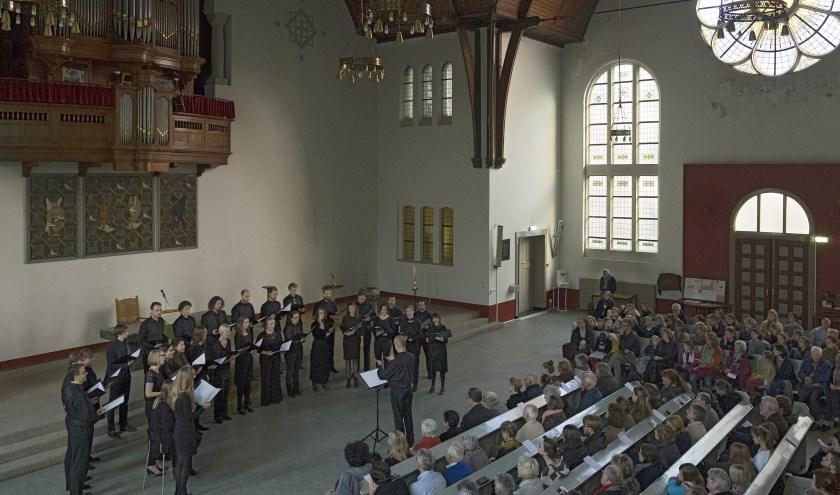 Kamerkoor Yoik zingt op 23 en 24 maart in Den Haag Balkan Vokalen. (Foto: Joop Reijngoud)