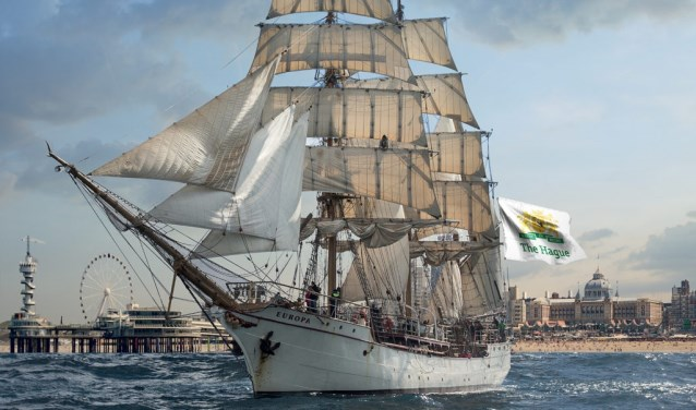 Een impressie van hoe Sail op Scheveningen er in mei zal uitzien.