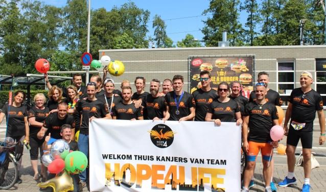 Het team bestaat uit sporters uit Heukelum, Leerdam en wijde omgeving. Eigen foto