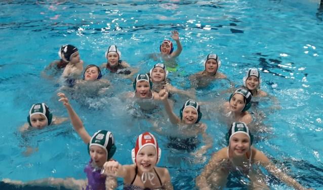 Vijftien leerlingen speelden mee in twee leeftijdscategorieën. Eigen foto