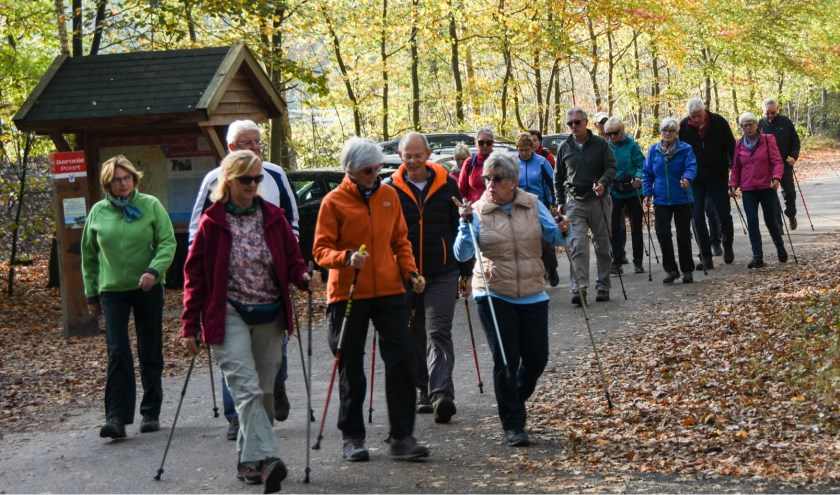Nordic Walkers van THOR op de ledendag 2018