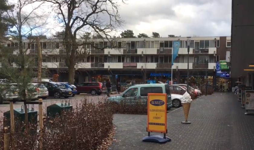 Ook in winkelcentrum Kerkebosch hebben ondernemers veel last gehad van de verbouwingswerkzaamheden.
